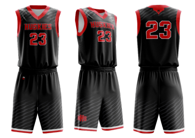 NIU_Webasketball tops and shorts